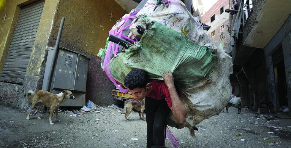 حرب النفايات في القاهرة