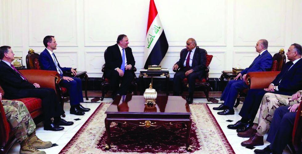 صالح وعبد المهدي: سياستنا متوازنة مع جميع الأصدقاء والجيران