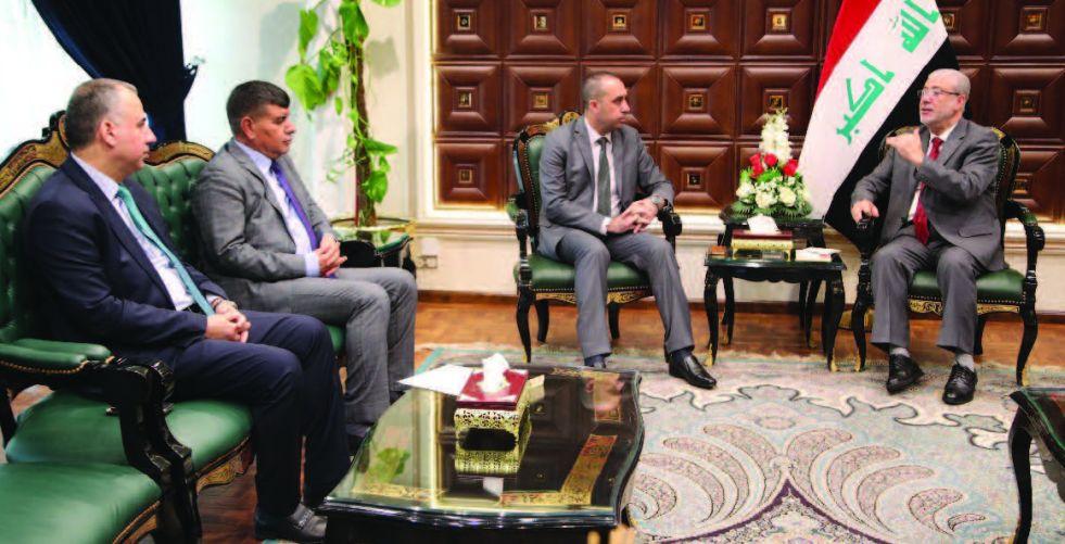 حداد يبحث مع رئاسة المفوضية استعداداتها للانتخابات القادمة