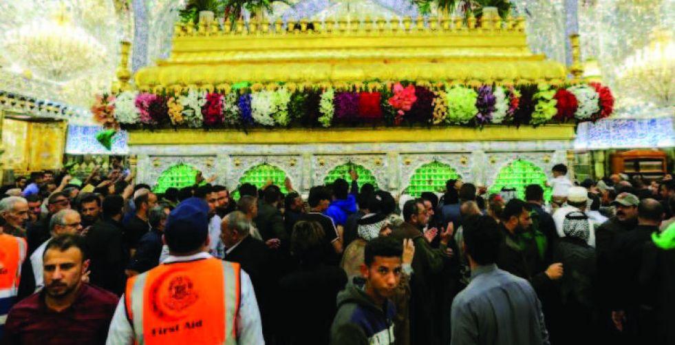 النجف تحيي ليالي القدر وذكرى استشهاد الإمام علي (ع)