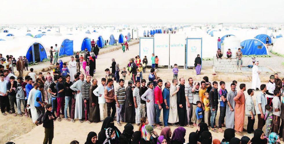 ستة مقترحات لضمان العودة الطوعية للنازحين  في مخيمات جنوب نينوى