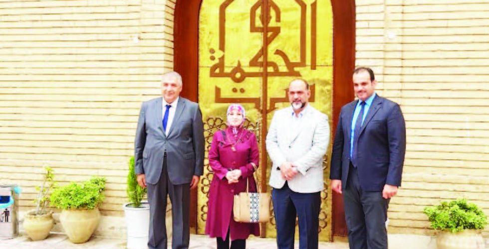 الغلاب تدعو للاهتمام بمركز بغداد القديم