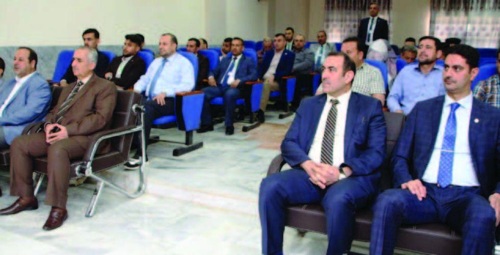 جامعة الانبار تقيم الملتقى الابداعي لبحوث طلبتها