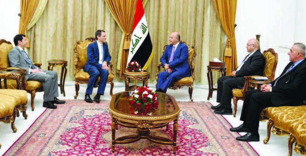 صالح: موقف العراق تجاه أزمات المنطقة ينطلق من مصالحه العليا