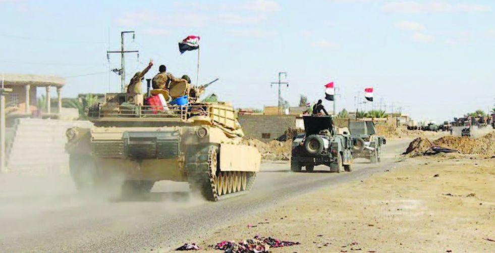 انطلاق عملية تطهير واسعة  في جزيرة صلاح الدين