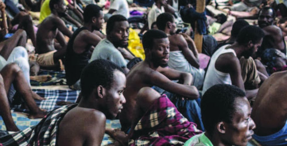 الأمم المتحدة: ظروف مراكز الهجرة  في ليبيا {مزرية}