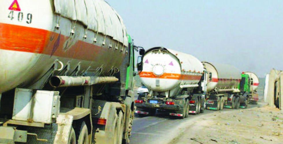النفط تجهز نينوى بـ 1500 طن من مادة الأسفلت