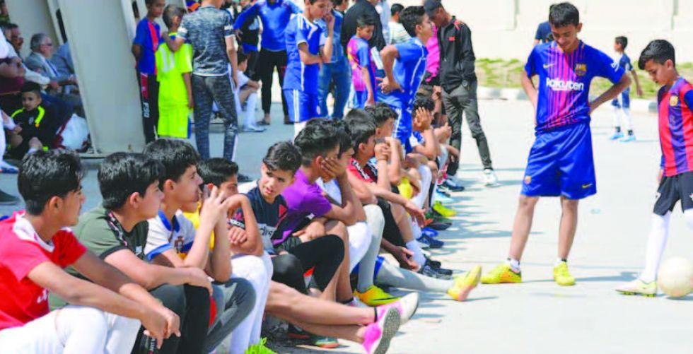افتتاح مدرسة الموهبة الرياضية الكروية في واسط