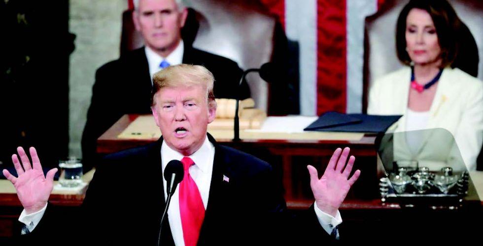 الولايات المتحدة ليست على مسار حرب مع إيران