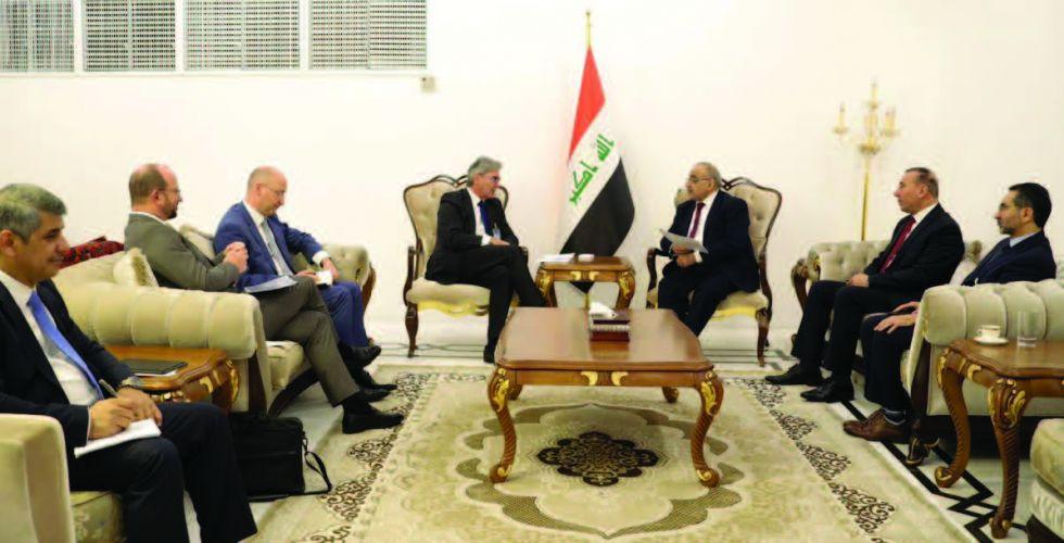 عبد المهدي: العراق يتسع للشركات العالمية وفرص الاستثمار متاحة