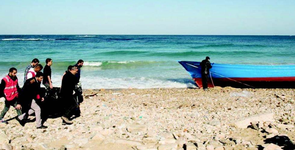 انتشال جثث 38 مهاجراً قبالة السواحل التونسية
