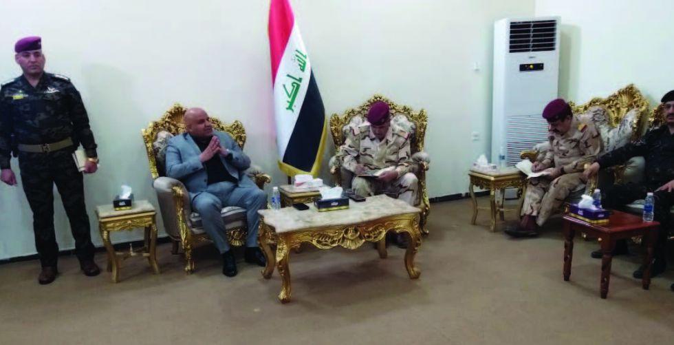 محافظ صلاح الدين: قوات الحشد الشعبي ستكون بأطراف المدن