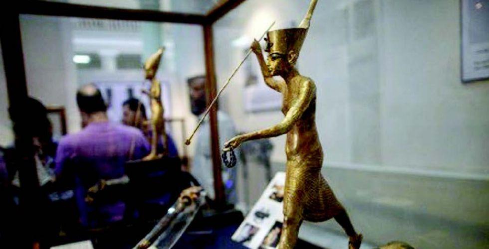 سرقة 50 قطعة من المتحف المصري