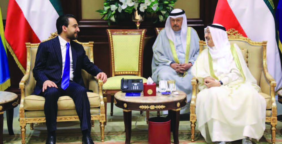 The Speaker of the House of Representatives meets with the Kuwaiti Minister of Defense Alsabaah-16737