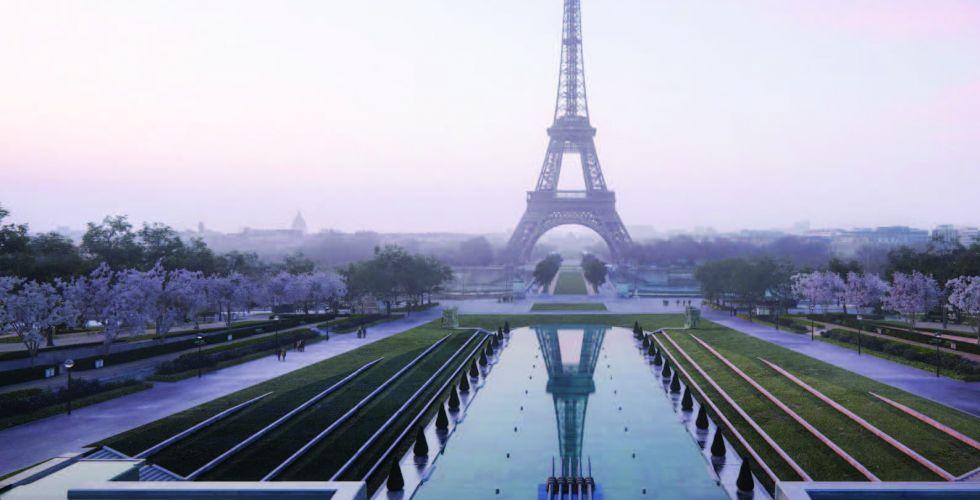 تطوير برج إيفل وتحويل قلب باريس الى منطقة خضراء