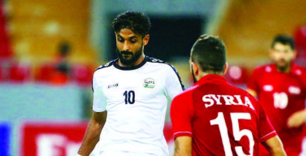 منتخب اليمن يحصد نقطة ثمينة أمام سوريا