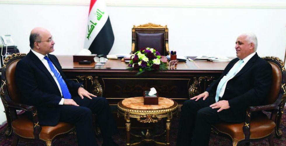 برهم صالح يشدد على حماية مكتسبات الانتصار على «داعش»