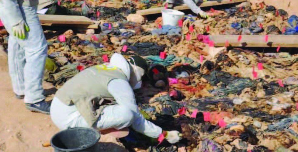 تنسيق مع الأمم المتحدة لدعم ملف المفقودين والمقابر الجماعية