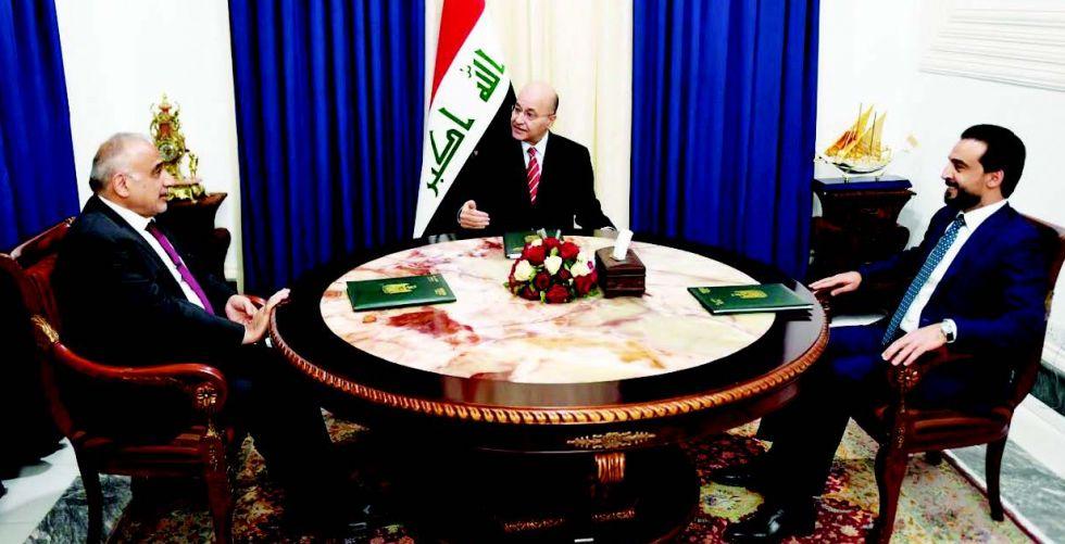 العراق يؤكد موقفه الرافض لمبدأ الحرب بالوكالة
