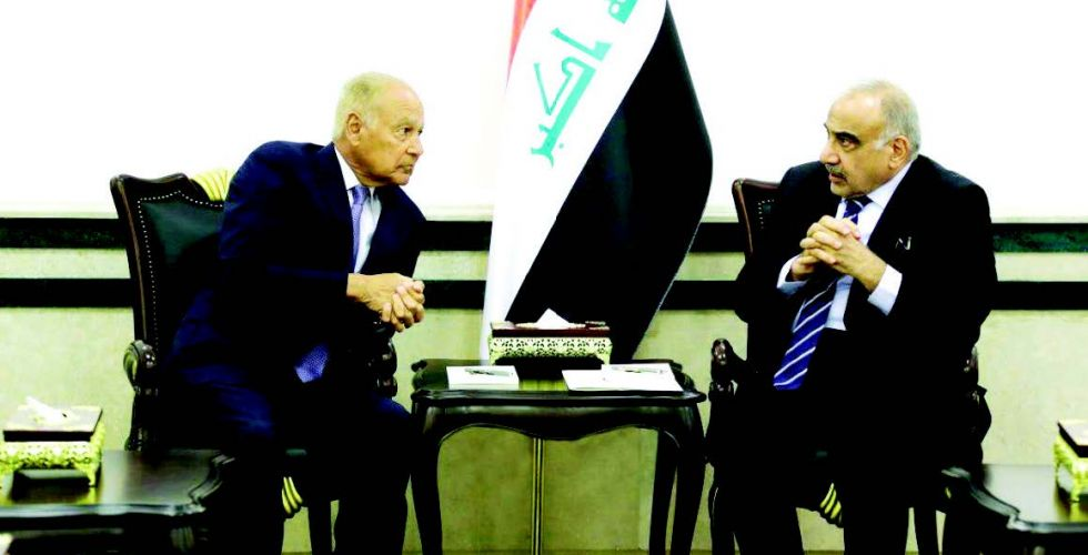 Aboul Gheit begins talks to support efforts to restore stability in Iraq Alsabaah-18532