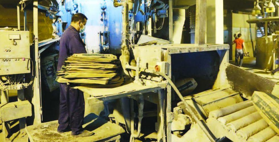 الصناعة: 135 بالمئة نسبة مبيعات الاسمنت