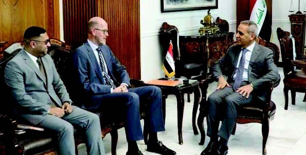 زيدان يبحث مع السفير الهولندي التعاون المشترك