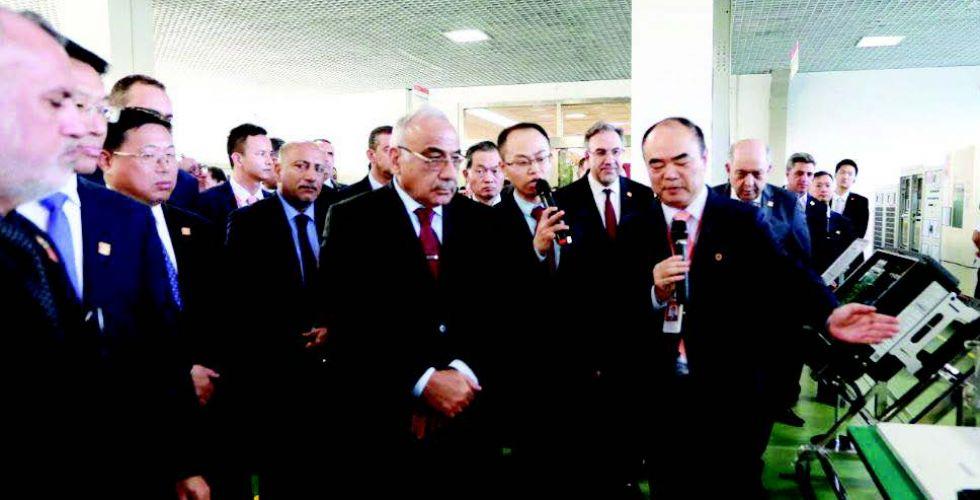 عبد المهدي: 500 مليار دولار حجم الأعمال بين العراق والصين