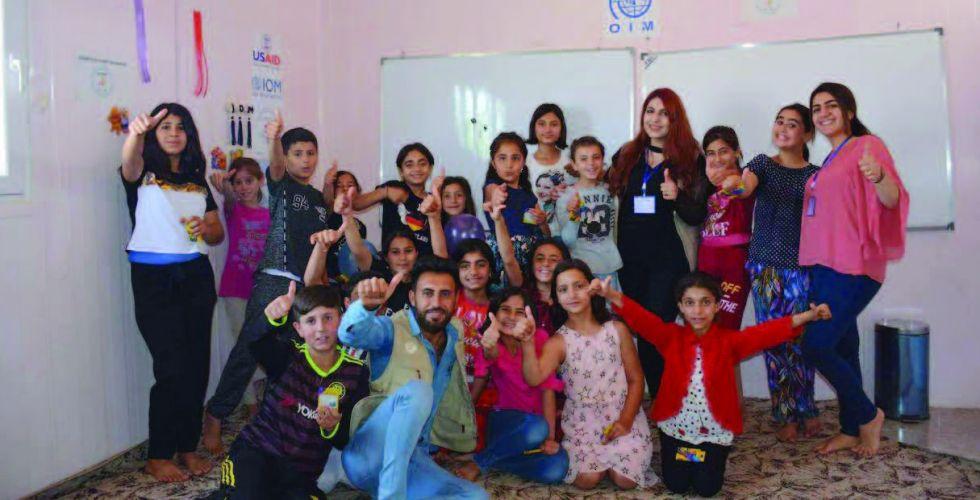مبادرة لتأهيل سكان المخيمات