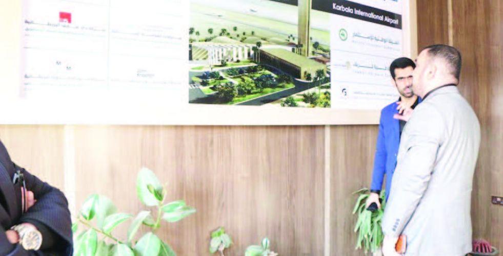 كربلاء: مشروعا المطار والسكك طفرتان  نوعيتان للمحافظة