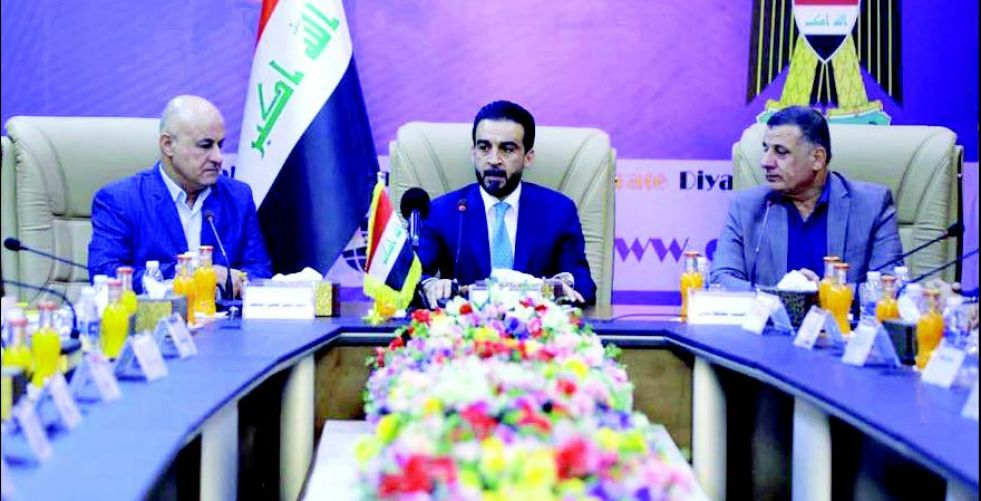 Halbousi: Political stability is the key to services and reconstruction