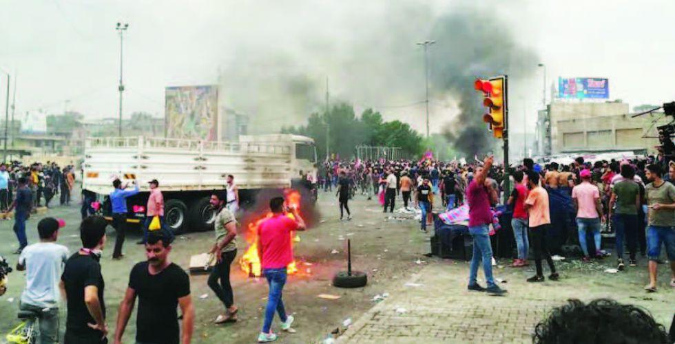 إصابات بين المتظاهرين والقوات الأمنية ومطالبات بالتهدئة وضبط النفس