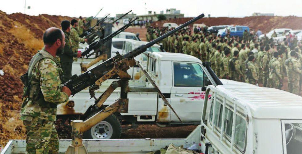 تركيا تكمل استعدادات الهجوم على (قسد) شرق الفرات