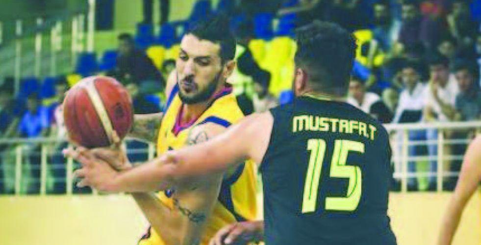 دهوك يواجه الضيف الجديد في دوري السلة الممتاز