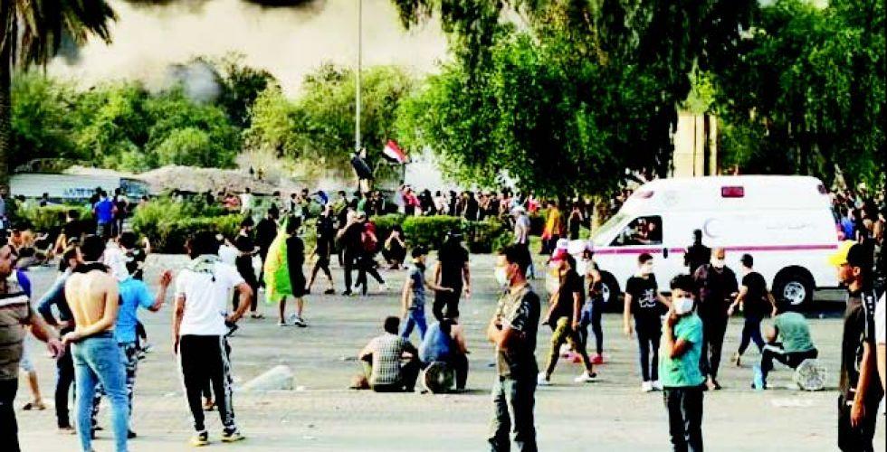 اللجنة الحكومية تباشر التحقيق بشأن الاعتداء  على المتظاهرين