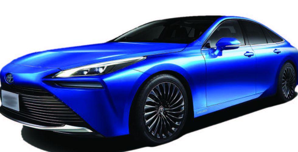 جديد تويوتا .. سيارة هيدروجينية
