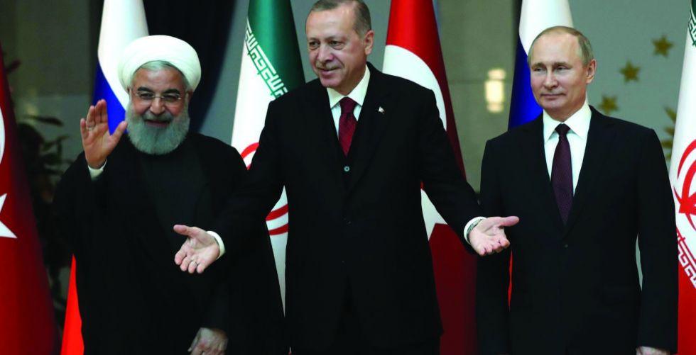 اردوغان يلتقي بوتين اليوم لبحث الأزمة السورية