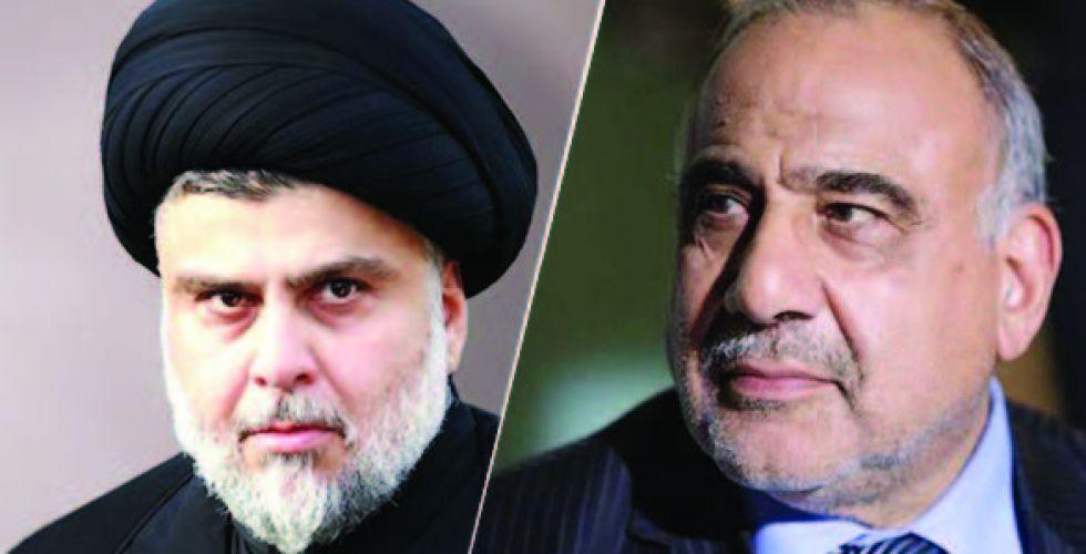 تبادل للرسائل بين عبد المهدي والصدر
