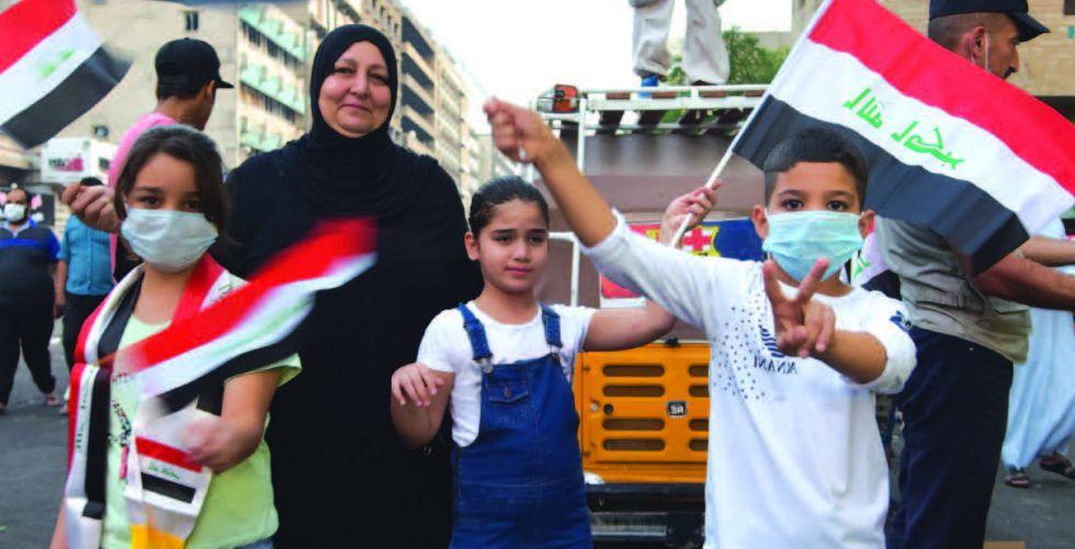 محاذير زج الأطفال في التظاهرات