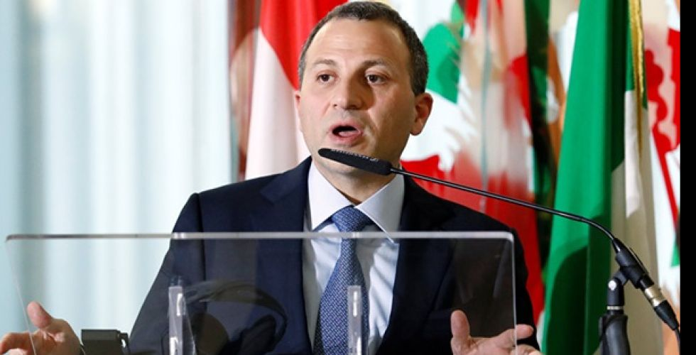 وزير الخارجية اللبناني يدعو إلى محاسبة الفاسدين  وتأسيس دولة مدنية