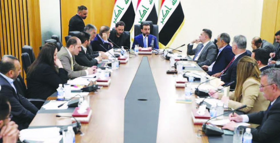 لجنة التعديلات الدستورية تعقد اجتماعها الأول برئاسة الحلبوسي
