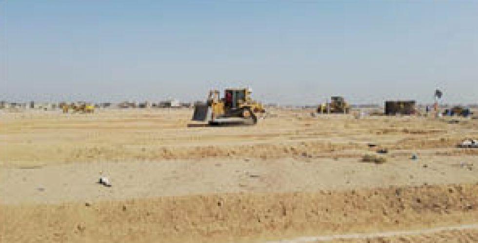 ميسان توزع أراضي بين ذوي شهداء  القوات الأمنية والحشد