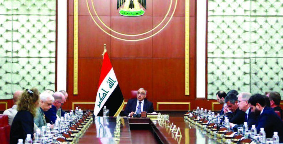 عبدالمهدي: الحكومة تحترم حق التظاهر وتوفر الحماية للمتظاهرين