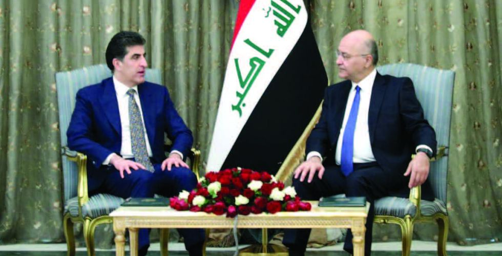 الرئاسات الثلاث تبحث العلاقة  بين الحكومة الاتحادية وكردستان