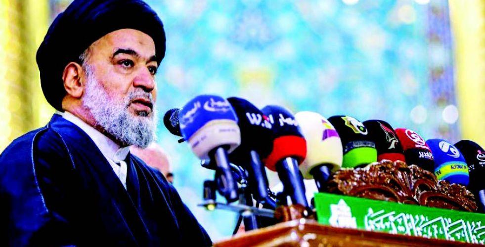 المرجعية العليا: العراق «لن يكون بعد هذه الاحتجاجات كما كان قبلها»