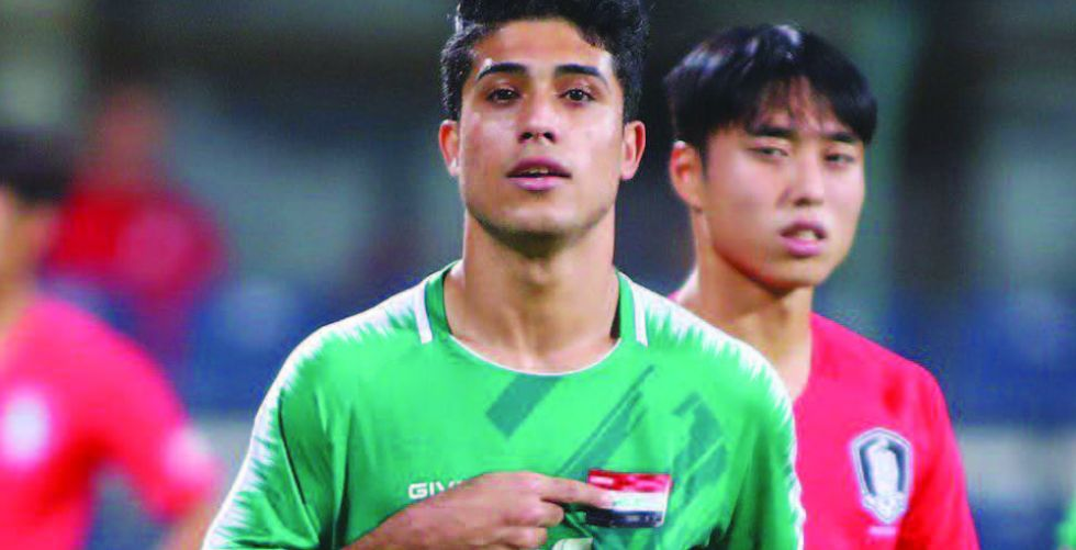 الأولمبي يختتم مشاركته في بطولة دبي بلقاء الأردن