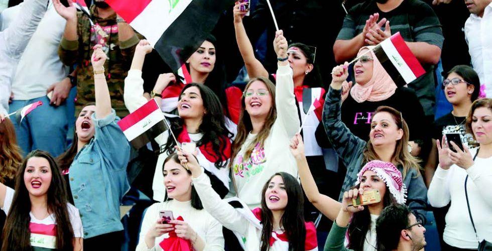 اليوم.. الجماهير الرياضية تترقب  فوزاً جديداً لأسود الرافدين
