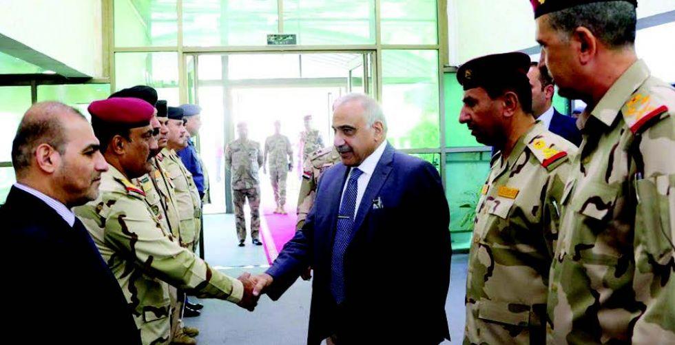 عبدالمهدي: أولوياتنا حماية حقوق العراقيين