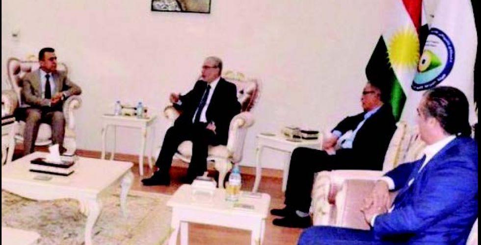 حداد شدد على ضرورة التعاون بين هيئتي النزاهة في بغداد وأربيل