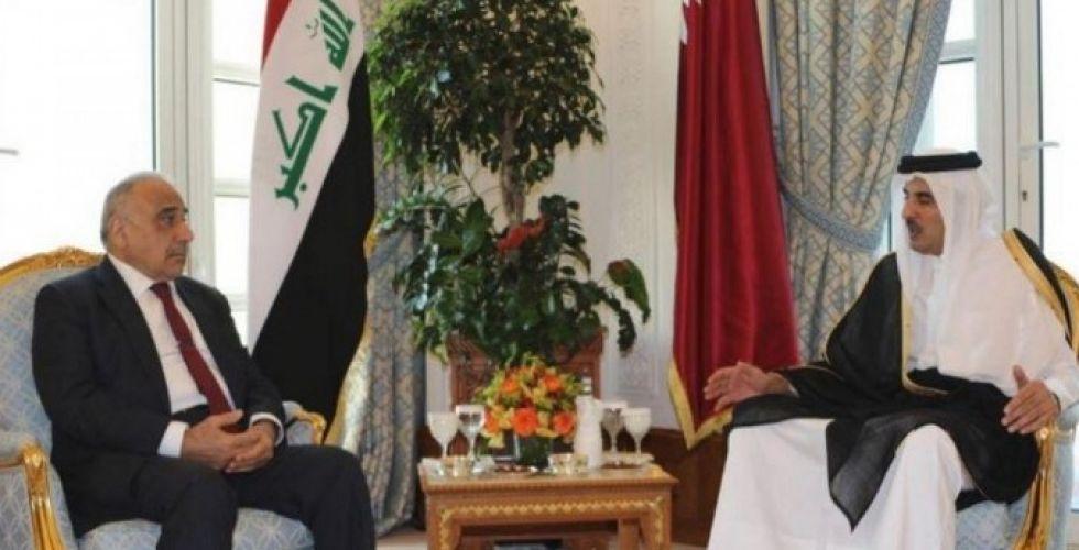 رئيسا الجمهورية والوزراء يبحثان مع أمير قطر تعزيز العلاقات