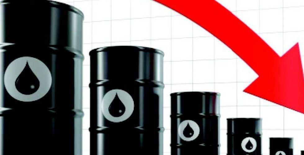 انخفاض أسعار النفط  بسبب التوترات التجاريَّة